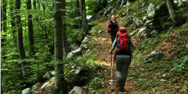 trekking Caneva